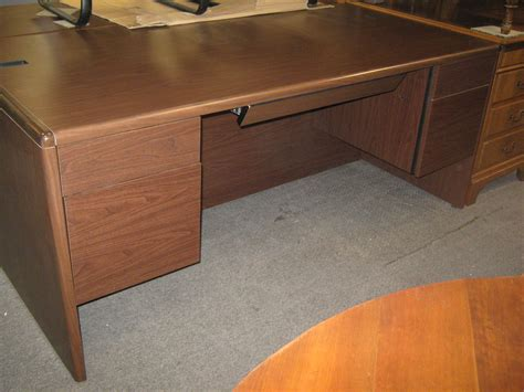 hon desks for sale used hon pedestal desk broadway office