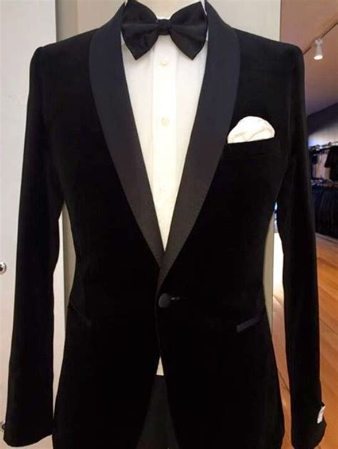 black tie velvet dinner jacket bow tie made to measure