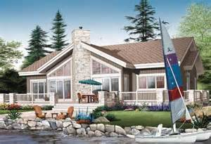 Lake Front Home Plans Waterfront Style House Plans 2146 Square Foot Home 1