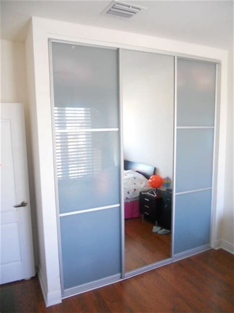 glass closet doors for bedrooms stylish frosted glass interior doors design ideas home