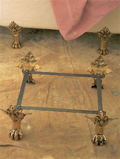 Bathtub Reglazing Diy by Clawfoot Bathtub Replacement Feet Ideas