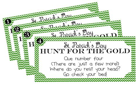 and me scrapbooking st s day treasure hunt