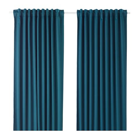 light blocking curtains ikea majgull block out curtains 1 pair ikea