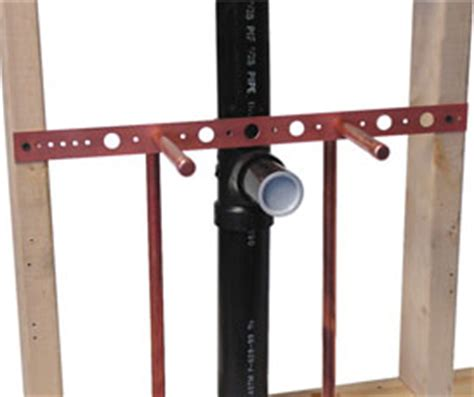 Plumbing Support Brackets by 101 18 Holdrite