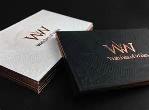 luxury business card luxury business card design watches of wales