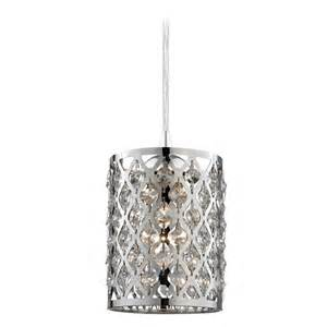Pendant Light With Crystals Mini Pendant Light 582 26 Gl1046 26 Destination Lighting