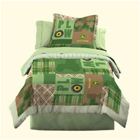 john deere bed set amazon com john deere bedding boys quilt and sham set