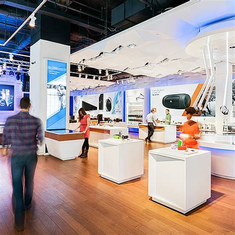 retail layout articles harman international flagship store projects gensler
