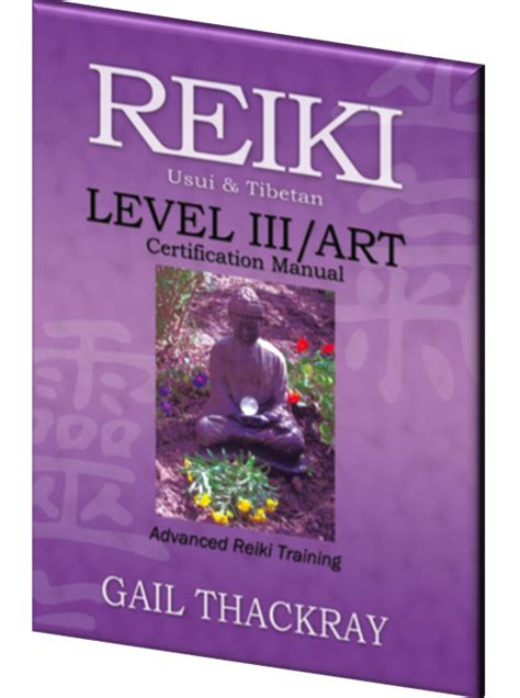 reiki level iii certification manual advanced reiki