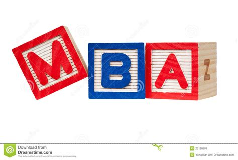 Masters In Pr Or Mba by Master Of Business Administration Stock Image Image