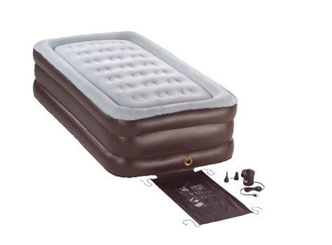 coleman quickbed air mattress coleman quickbed air mattress sleeping bag  built  air