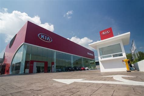 Naza Kia Service Centre Car Showroom Design Showroom Renovation Service Centre
