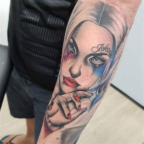 harlequin tattoo designs 60 harley quinn ideas bring out your