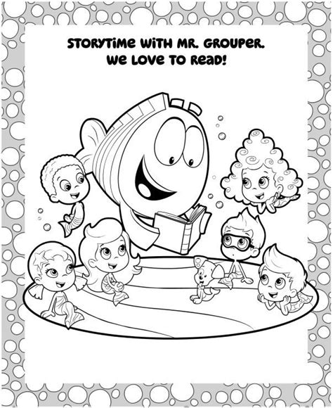bubble guppies coloring pages halloween free coloring pages of bubble guppies halloween