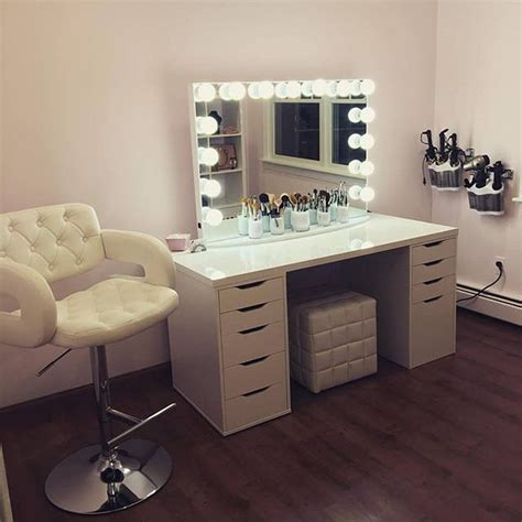 makeup table with alex drawers holy glam room else wouldn t mind having a glam sesh