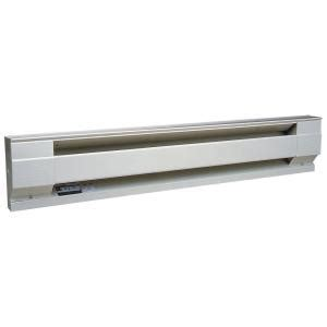 heaters at home depot cadet 60 in 1250 watt 208 volt electric baseboard heater