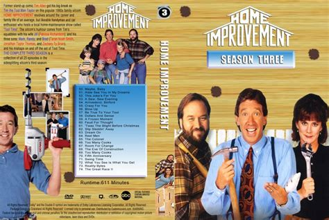 home improvement season 3 tv dvd custom covers