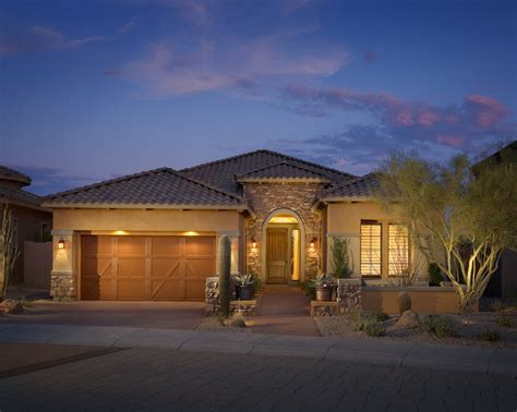 arizona style homes windgate ranch scottsdale cassia collection the