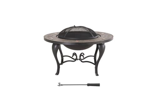 sunjoy bavaria 35 inch wood charcoal outdoor pit - Pit Home Depot Canada