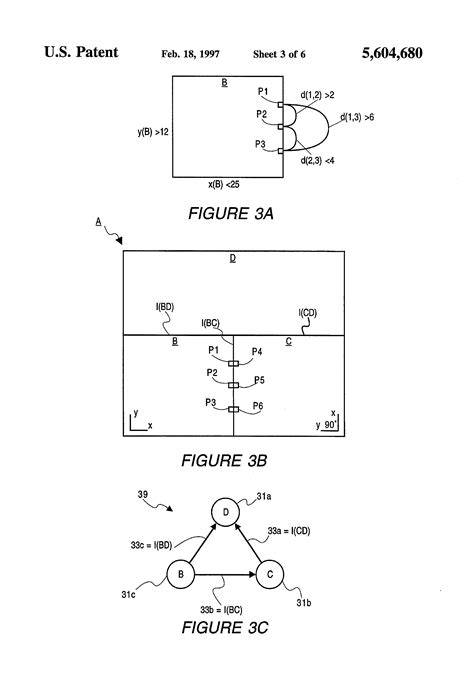 page layout hierarchy patent us5604680 virtual interface representation of