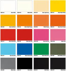 types of color schemes color options types for vinyl vehicle wraps