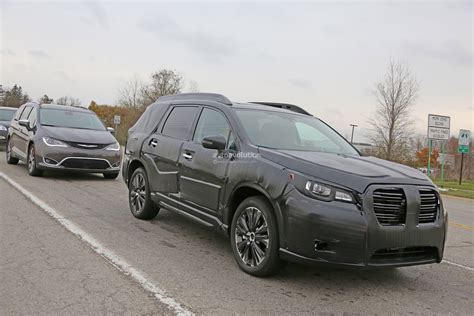 2019 Subaru Wrx Configurations by Spyshots 2019 Subaru Ascent Rolls With Chrysler Pacifica