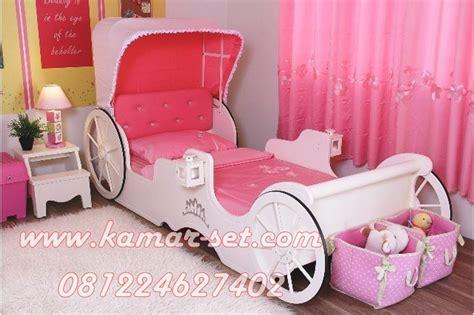 Kelambu Kasur Elegan Tempat Tidur Princess Net Mewah Anti Nyamuk harga tempat tidur kereta princess cinderella model ranjang karakter anak perempuan kamar set