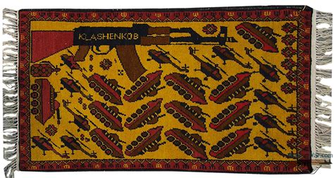 afghan war rugs bant mag guns and roses the war rugs of afghanistan