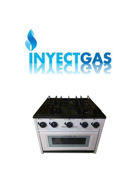 anafe horno a gas anafe con horno 4 hornallas conometal av 1006 inyect gas