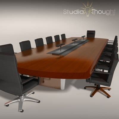 conference room tables wood conference room table 3d 3ds
