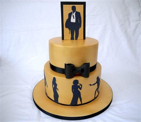 james bond themed birthday cakes a cake to celebrate a 50th birthday the theme of the