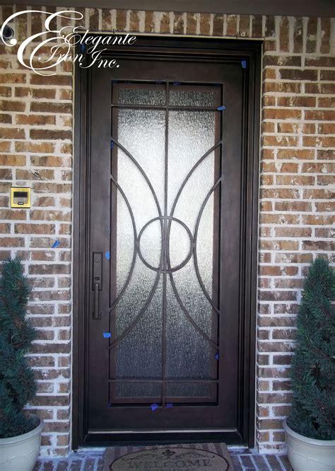 custom wrought iron front door wrought iron doors iron