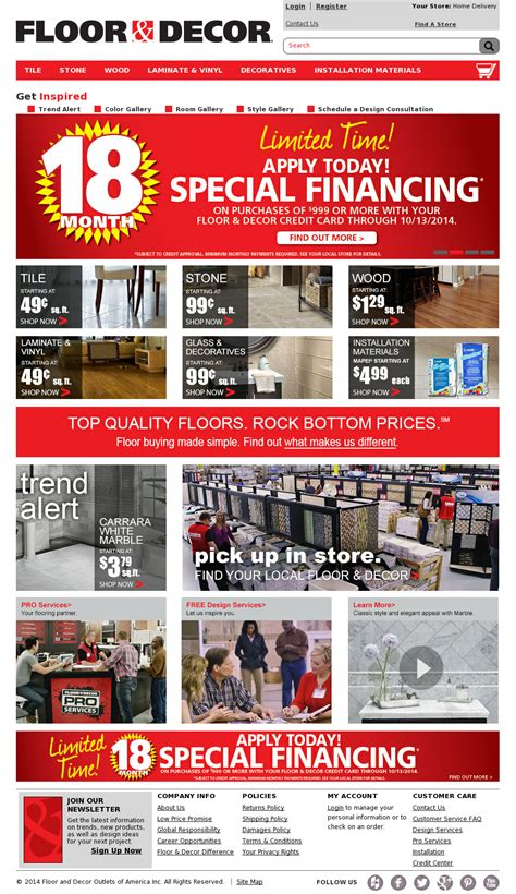 floor and decor website floor and decor competitors revenue and employees owler