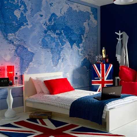 Wallpaper Kids Bedrooms Kids Bedroom Wallpaper Map