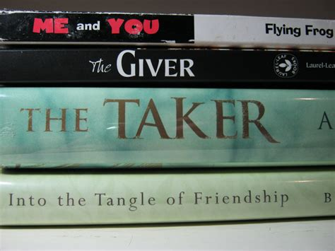 the the the giver the taker cracking the spine