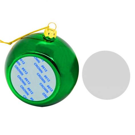 green bauble bauble green