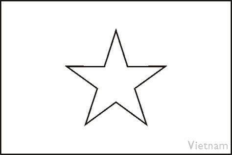 south vietnam flag free coloring pages