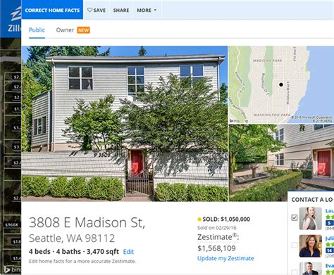 zillow home values