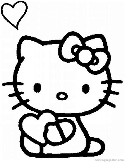 hello kitty coloring pages full size free printable hello kitty coloring pages gianfreda net