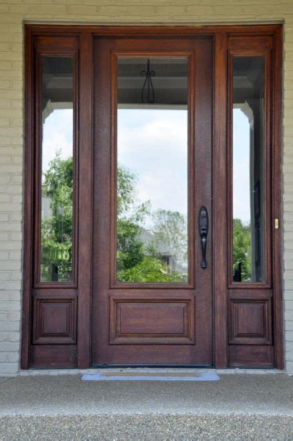 Wood And Glass Exterior Doors Glass And Wood Front Door Entryways Pinterest Wood Front Doors Front Doors