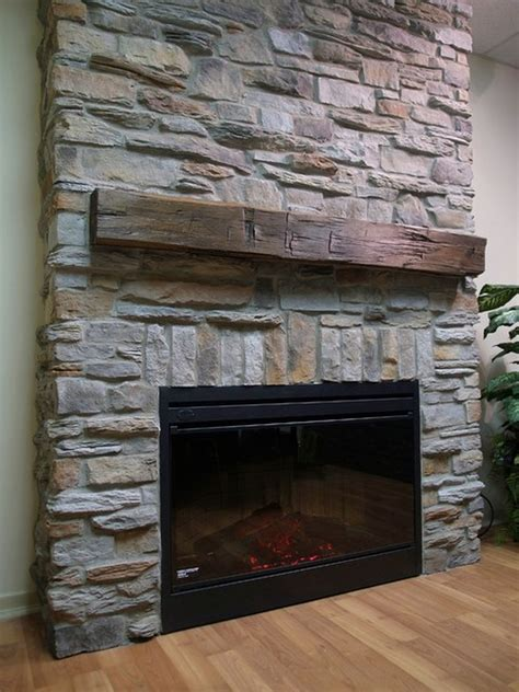 Veneer Fireplace Pictures by Cobblestone Fireplace Painting A I Did It With