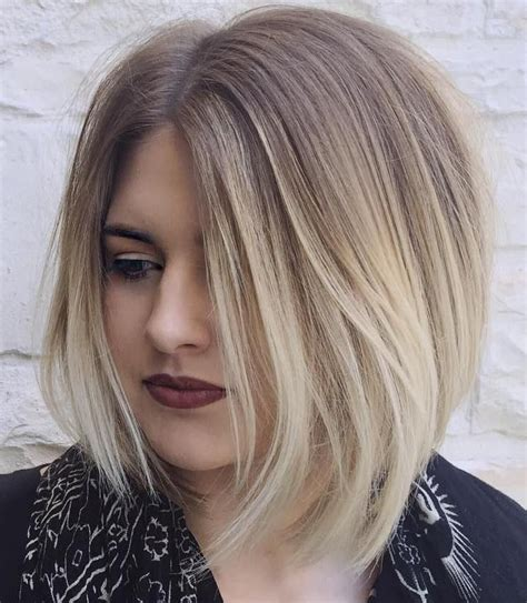 blonde ombres for medium lengths 30 stunning medium hairstyles for round faces blonde