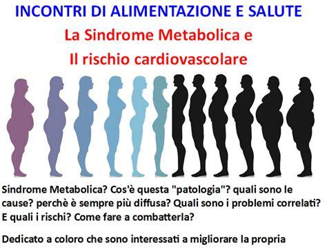 alimentazione metabolica sindrome metabolica dieta sindrome metabolica nutrizione