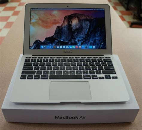 Laptop Apple April for sale apple macbook air 11 6 laptop md711ll b april 2014 model macau