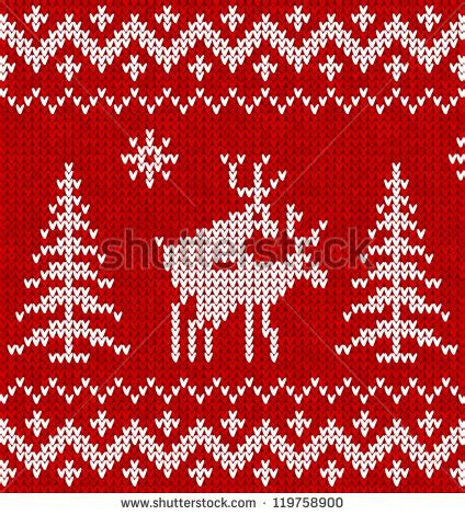 christmas jumper pattern vector reindeer sweater stock images royalty free images