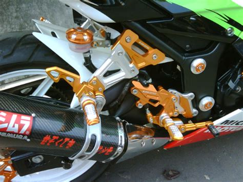 Undertail Non Led Cbr150 Lokal K45 prostreet shop footstep racing bikers 250 all new cbr