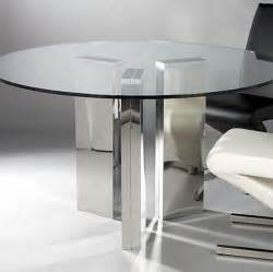 gallery for gt modern round glass dining table