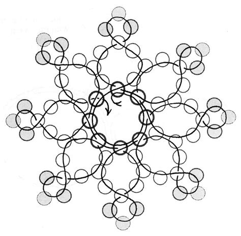 25 best ideas about beaded snowflake on