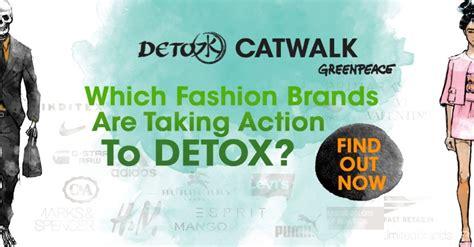 Green Peace Detox Catwalk by Greenpeace Ranking Reveals Fashion Companies On