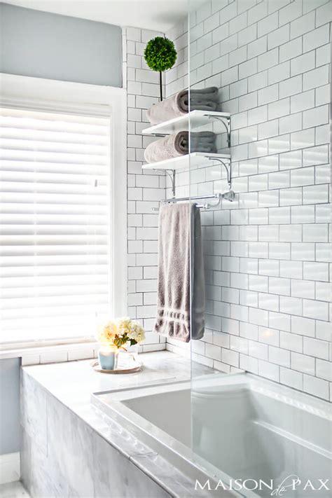 how to make a small master bath spa like modernize
